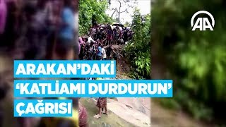Arakan'daki ''Katliamı Durdurun'' Çağrısı...