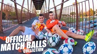 My Football Official Match Ball Collection!