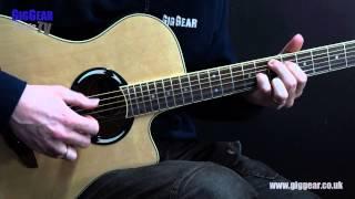 Yamaha APX500 II Guitar Demo