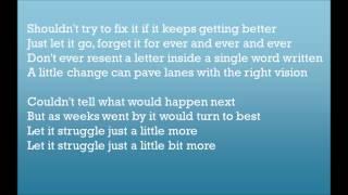 The Neighbourhood  Let It Go (lyrics)