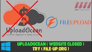 Earning Money in Online Uploading (UploadOcean) $21 Per 1000 Downloads