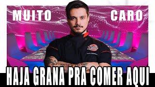 O RESTAURANTE MAIS CARO DO MUNDO - XEPA!