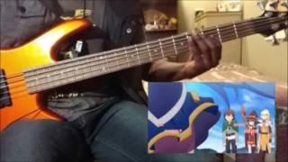 Bass Cover - KonoSuba! 2 (この素晴らしい世界に祝福を! 2) OP [TAB入り]
