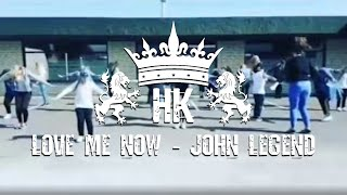 "John Legend - ""Love Me Now"" - Choreography"