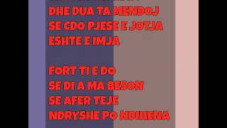 Elgit Doda  - Dikush te do - [ lyrics ]