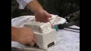 Kőöntés! Stone pyramid experiment! (2.video)