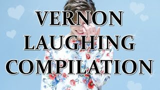 ✩ SEVENTEEN (세븐틴) - Vernon Laughing Compilation ✩