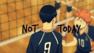 Haikyuu!!「AMV」BTS 'Not Today' MV