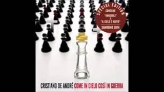 """CRISTIANO DE ANDRE' - """"Il cielo è vuoto"""" (Studio Version/2014)"""