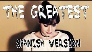 The Greatest - Sia ft. Kendrick Lamar (live spanish version by María / version español por María)