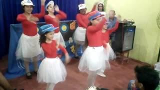 Coreografia infantil Marinheiro Fiel