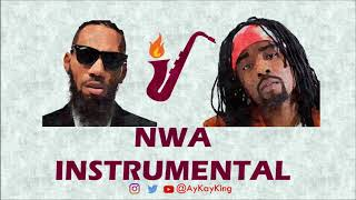 Phyno Ft Wale, Olamide - N.W.A DanceHall 🎷Saxophone Remix (Instrumental Cover 2018) By AyKayKing