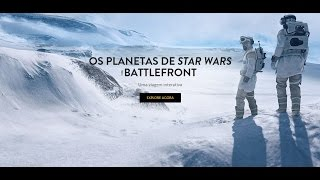 Star Wars Battlefront - Trailer 'Os Planetas' - Português (BR)