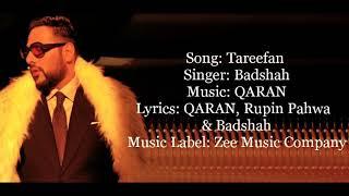 Tareefan lyrics width=