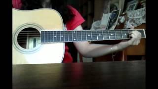 Chaerin - Skyscraper - Demi Lovato (Guitar Cover) [12 weeks]