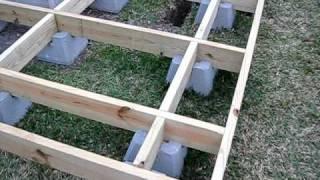How I Built My Backyard Observatory - Episode #18   Deck Level & Square