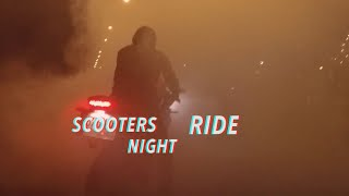 Scooters Night Ride in Klaipeda