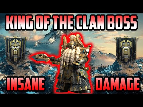 The Mountain KING of Clan Boss I Raid Shadow Legends