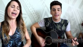 Mariana & Mateus - Implorando Pra Trair - Michel Teló part Gusttavo Lima (COVER)
