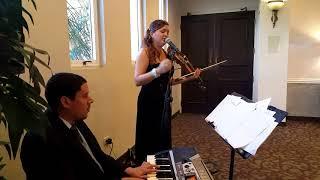 Pedro Capó & Thalía   Estoy Enamorada   LIVE   Eleganza Violin,Voice & Piano Ensemble