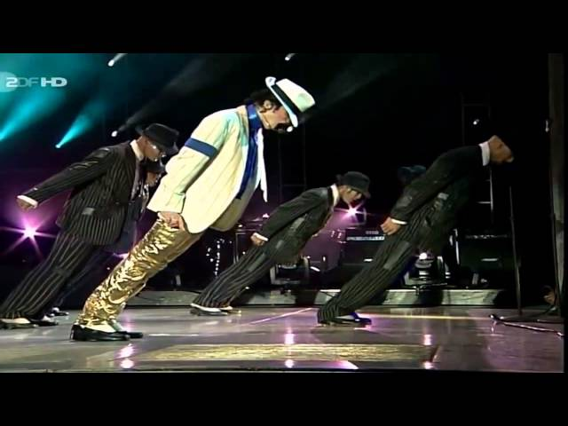 "Video de ""Smooth Criminal"" de Michael Jackson en directo en concierto en Munich en 1997"