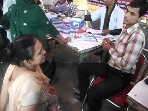 total health chekup camp @ B Positive Path Lab Rani Bagh Nov 2012