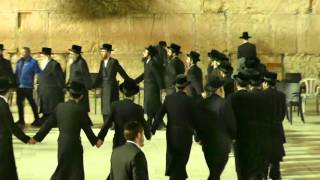 """Next Year in Jerusalem"" Dancing at the Kotel"