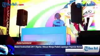 DJ Soda Meriahkan Biznet Festival Bali 2017