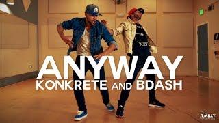 Chris Brown - Anyway ft Tayla Parx | #TMillyFreestyleSeries: Konkrete & Bdash | @chrisbrown