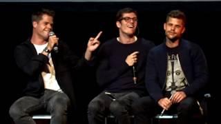 MAX CARVER, DANIEL SHARMAN & CHARLIE CARVER PANEL // WEREWOLF CON II