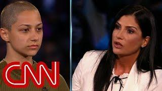 Shooting survivor confronts NRA spokesperson Dana Loesch