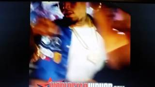 Chris Brown Shoves Female Fan Out The Way For Trying To Kiss Him On The Lips!