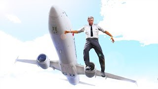 Pilot Jumps Out Of Boeing 737 Max | GTA 5