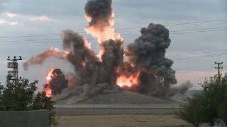 Bombardeos sobre Kobane