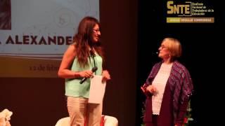 Sección 26 presenta a la Embajadora Nacional del SNTE, Susana Alexander