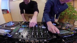 DJ MAST & AXEL PAEREL freestyle on new CDJ2000nexus 2 & DJM900nexus 2