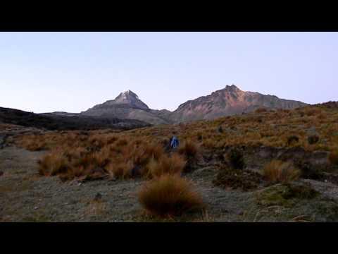 Illinizas Norte 1… beginning of the climb.