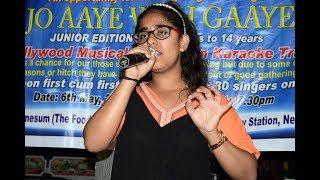 Yashasvi Bhardwaj - Aji ruth kar ab kaha jaoge | Jo Aaye Woh Gaaye | Live Singing Audition | Delhi