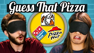 GUESS THAT PIZZA CHALLENGE! (Teens Vs. Food) width=