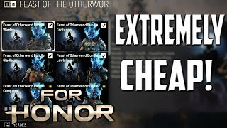 [For Honor] Mask Outfit and Wolf Emote Really Cheap!