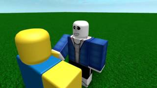 The sans song (roblox)
