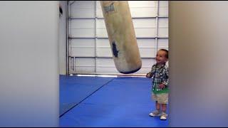 Original Video: Kid Gets Beaten Up By Punching Bag