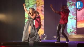 Pérola Ao vivo na Gala Miss Angola 2014