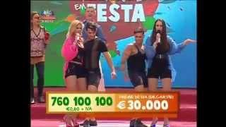 """BOMBOCAS """"Encontrei o amor"""" Em S. Domingos de Rana (Feira Mediaval 2015)  Contacto para Festas"""