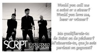The Script - If You Could See Me Now ║ Lyrics & Traduction en Français