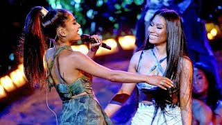 Ariana Grande ft Nicki Minaj  Performance Side To Side Live at the AMA's 2016