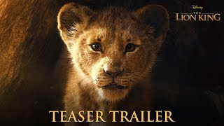 The Lion King Official Teaser Trailer width=