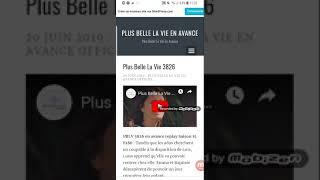 Plus Belle La Vie En Avance Episode 3826