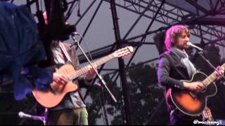 Kings of Convenience-Mrs.Cold @Seoul Jazz Festival 2013