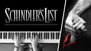 Schindler's List Theme by John Williams - Piano Cover